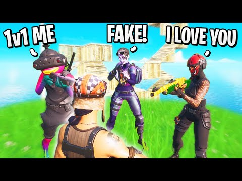 I Joined RANDOM Creative Fill Lobbies using Renegade Raider... (funny reactions)