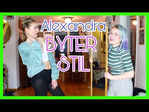 STYLE SWAP | Alexandra byter stil