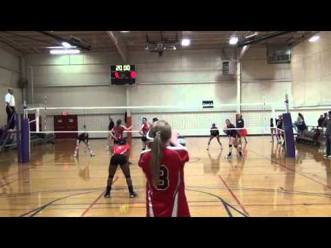 Louisiana Volleyball - Morgan Marlbrough