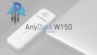 AnyData W150: настройка и решение частых проблем