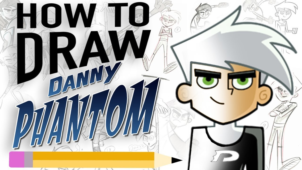 How To Draw Danny Phantom With Creator Butch Hartman Butch Hartman