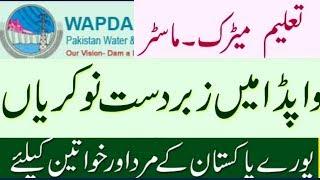 New Wapda Jobs 2019llPakistan Govt Jobs 2019ll NTS Pakistan Wapda Jobs 2019