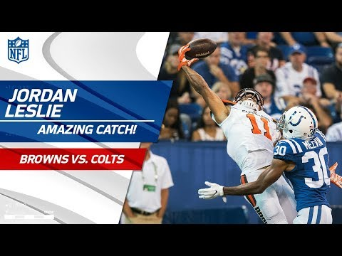 Jordan Leslie = Catch of the Year Candidate for One-Handed Grab! 💯 | Can
