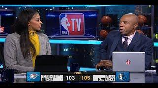 GameTime - Mavericks vs Thunder Postgame talk | December 30, 2018