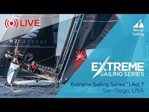 LIVE Sailing | Extreme Sailing Series™ - Act 7 | San Diego, USA | Sunday 22 October 2017