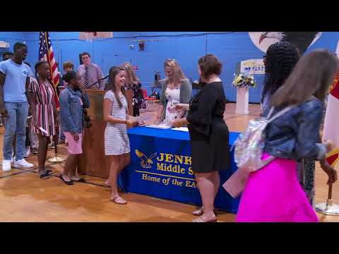 Jenkins Middle School 8th Promotion M-Z