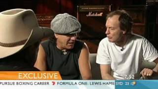 AC/DC interview on SUNRISE