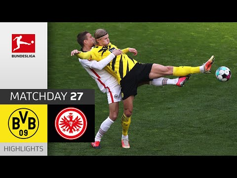 Borussia Dortmund Eintracht  Frankfurt Goals And Highlights