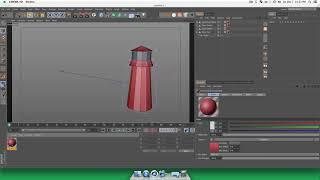 Summit 8   Basic Low Poly Animation   Cinema 4D