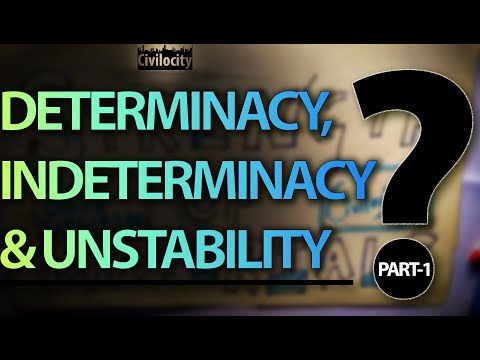 Determinate, Indeterminate and Unstable Structures! | Lecture - 19