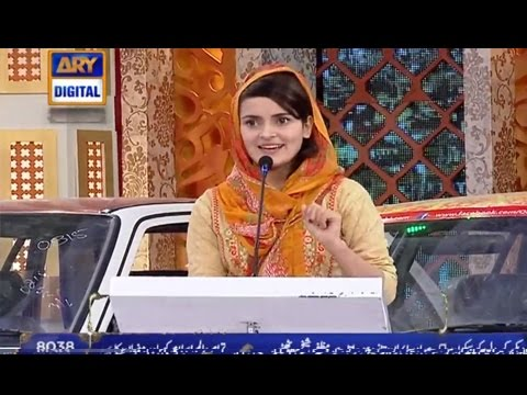 [Funny Speech] Topic Nazuk Surte Haal Hai - ARY Digital