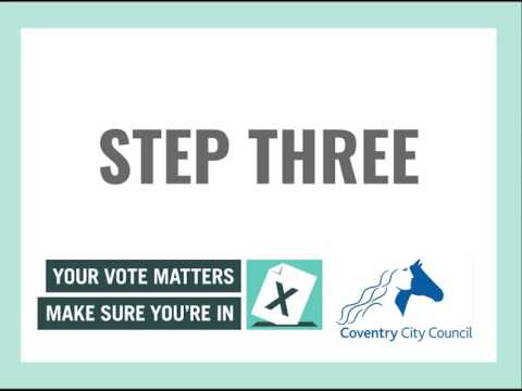 How to complete your annual canvass form in 4 easy steps!