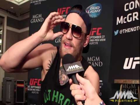 "UFC Fight Night McGregor vs. Siver: ""I Can"