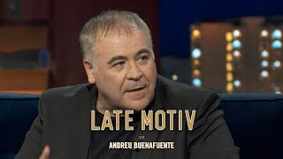 """LATE MOTIV - Antonio García Ferreras. """"Lo que me da equil..."""