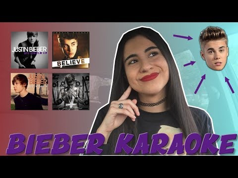JUSTIN BIEBER CARPOOL KARAOKE (best songs) | Just Sharon