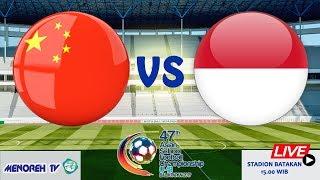 INDONESIA PELAJAR U-18 VS CHINA U-18   47th AFSC U-18/2019
