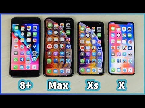 iPhone Xs Max vs iPhone Xs vs iPhone X vs iPhone 8 Plus! - ITA