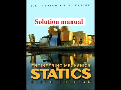 how to download engineering mechanics statics 5th edition solution manual