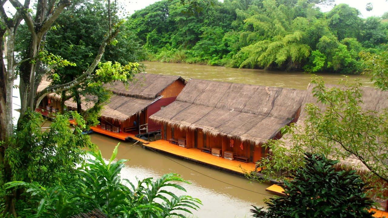 River Raft Hotel Thailand