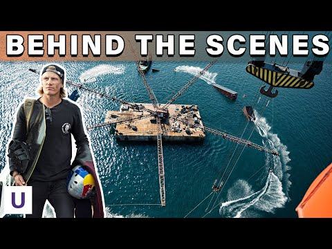 Building The World's MOST INSANE Freestyle Wakeboard Park | 360-Degree Wake Crane | Unstoppable