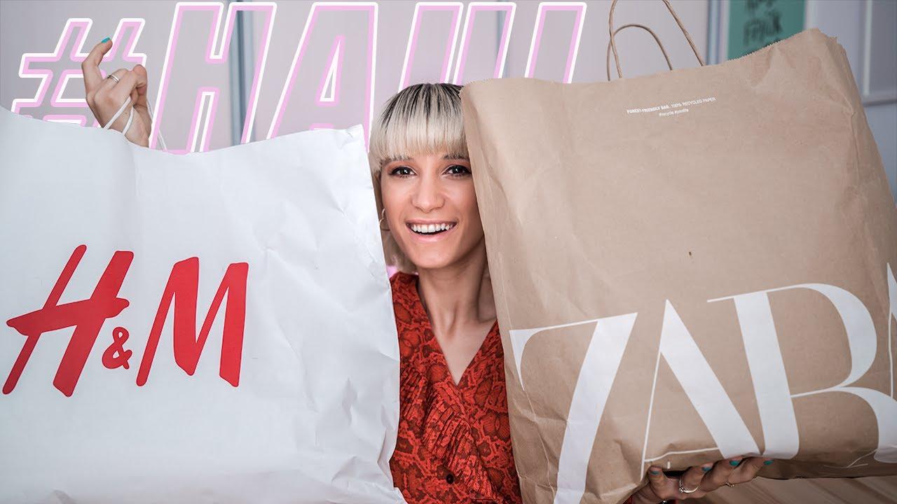 HAUL + TRY-ON: Noutati de la Zara si H&M!