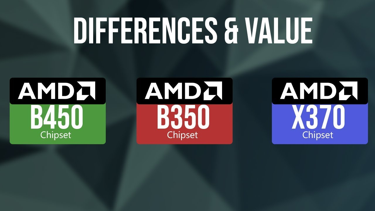 AMD b450, b350, and x370 chipset specs & performance differences, Is it  worth the upgrade?
