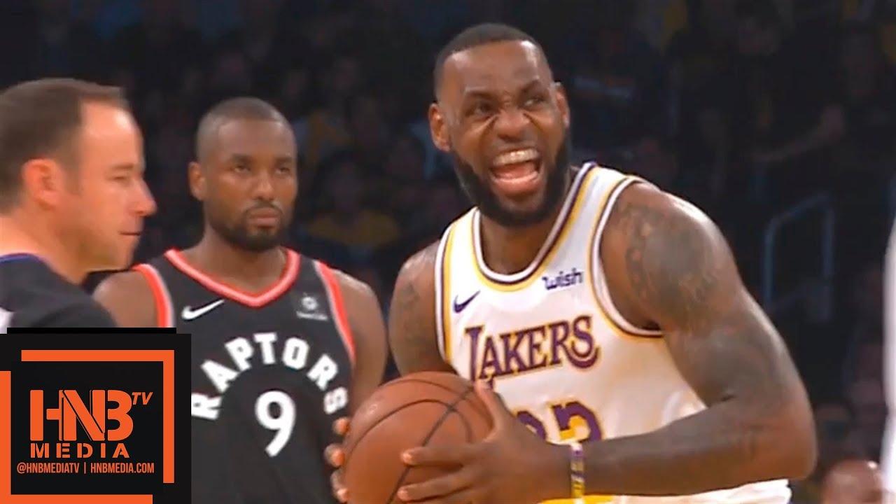 Los Angeles Lakers vs Toronto Raptors 1st Qtr Highlights | 11.04.2018, NBA  Season - YouTube