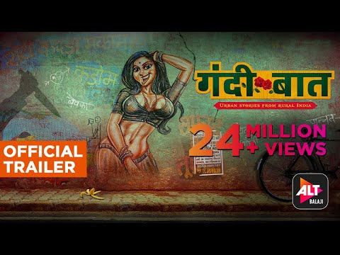 Gandii Baat | Official Trailer | Web series | ALTBalaji | Streaming Now