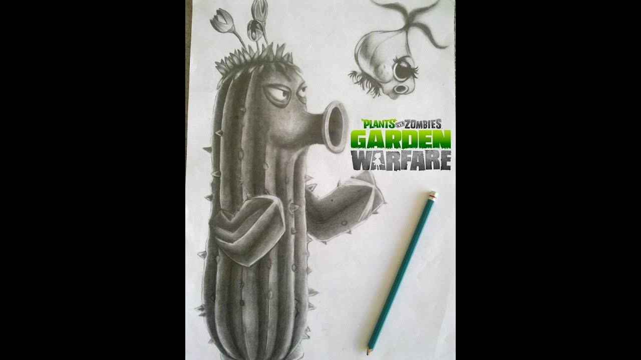 Plants Vs Zombies Garden Warfare 2 Para Dibujar On Log Wall