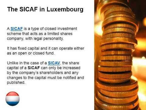 Create a SICAV or SICAF in Luxembourg