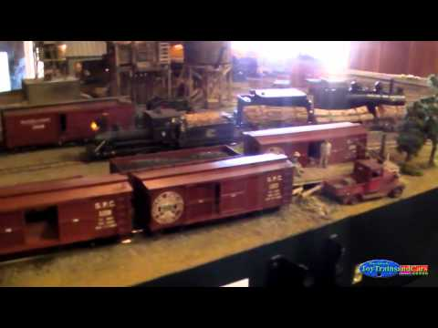 Old Western Model Train Set Up Part 2