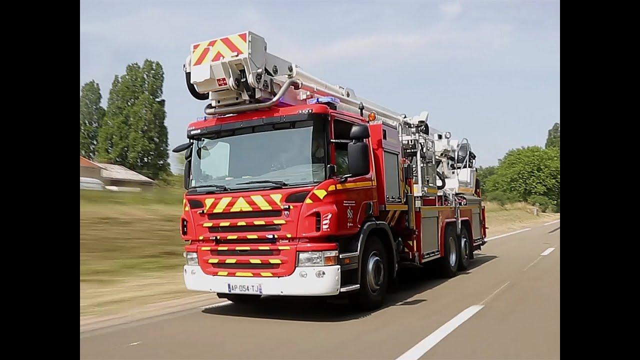 Auto plus au volant d 39 un camion de pompier youtube - Image camion pompier ...