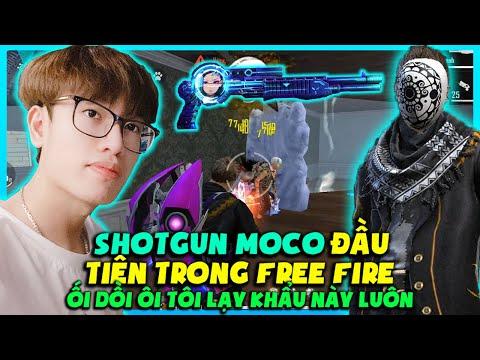 (FREE FIRE) SHOTGUN MOCO CÔNG NGHỆ ĐẦU TIÊN XUẤT HIỆN CỰC ĐỘC, HÙNG AKIRA ONESHOT ĐỈNH CAO HÉC ROÀI