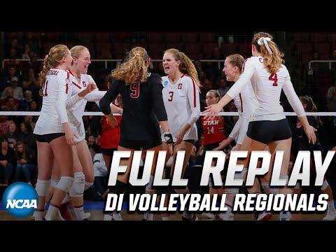 Stanford vs. Utah: 2019 NCAA women's volleyball regionals | FULL REPLAY
