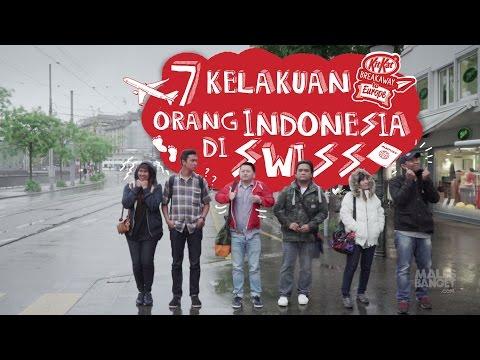 7 Kelakuan Orang Indonesia Saat Liburan di Swiss [Presented by KITKAT]