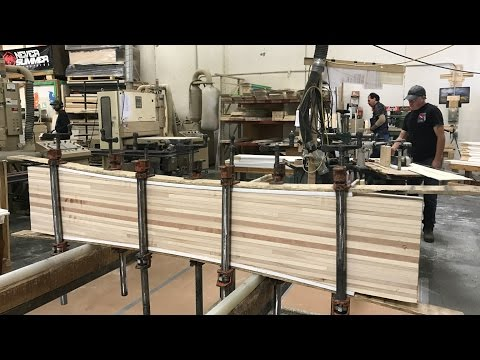 Building a Custom Snowboard at the Never Summer Snowboard Factory : Day 1