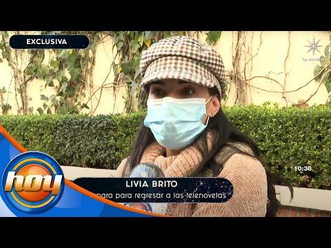 ¡Livia Brito alista su regreso a las telenovelas!   Programa Hoy