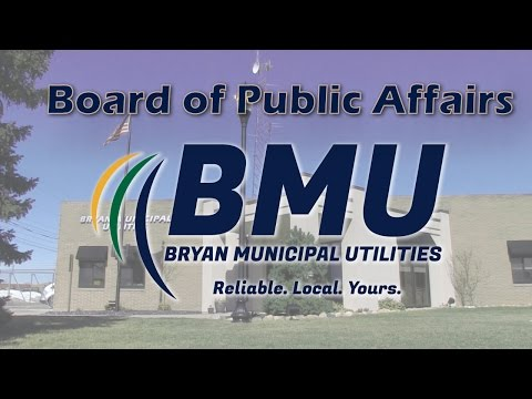 Board of Public Affairs Meeting --  2/16/16