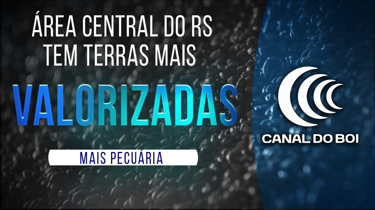 ÁREA CENTRAL DO RS TEM TERRAS MAIS VALORIZADAS PARA PRODUTIVIDADE.