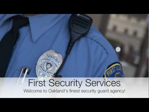 Oakland Security Guards | Private Business & Residential Security Service