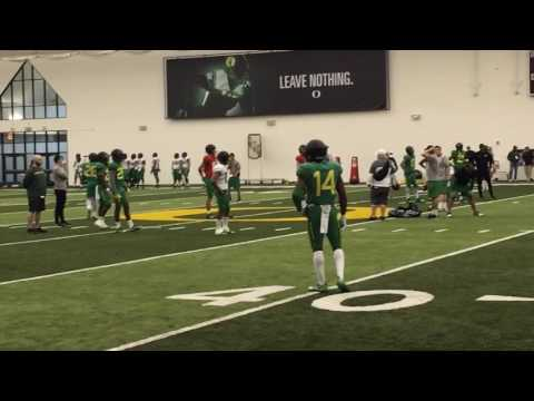 Oregon Ducks spring football practice No. 9: Sights and sounds