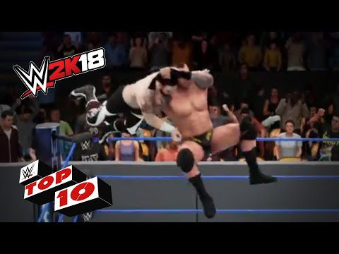 Fantastic Finishing Moves from Out of Nowhere: WWE 2K18 Top 10