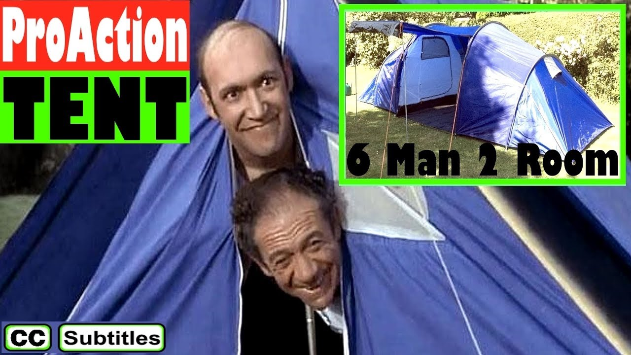 Argos ProAction 6 Man 2 Room Tent - A Quick Look  sc 1 st  YouTube & Argos ProAction 6 Man 2 Room Tent - A Quick Look - YouTube