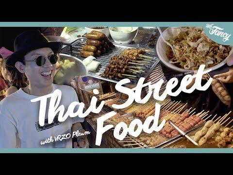 Ultimate Thai Street Food : Talad Rod Fai, Bangkok feat. VRZO Pleum