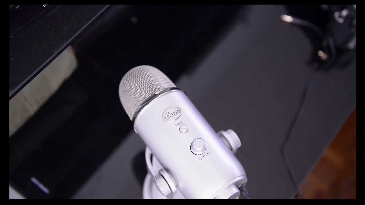 how to get mic feedback blue yeti