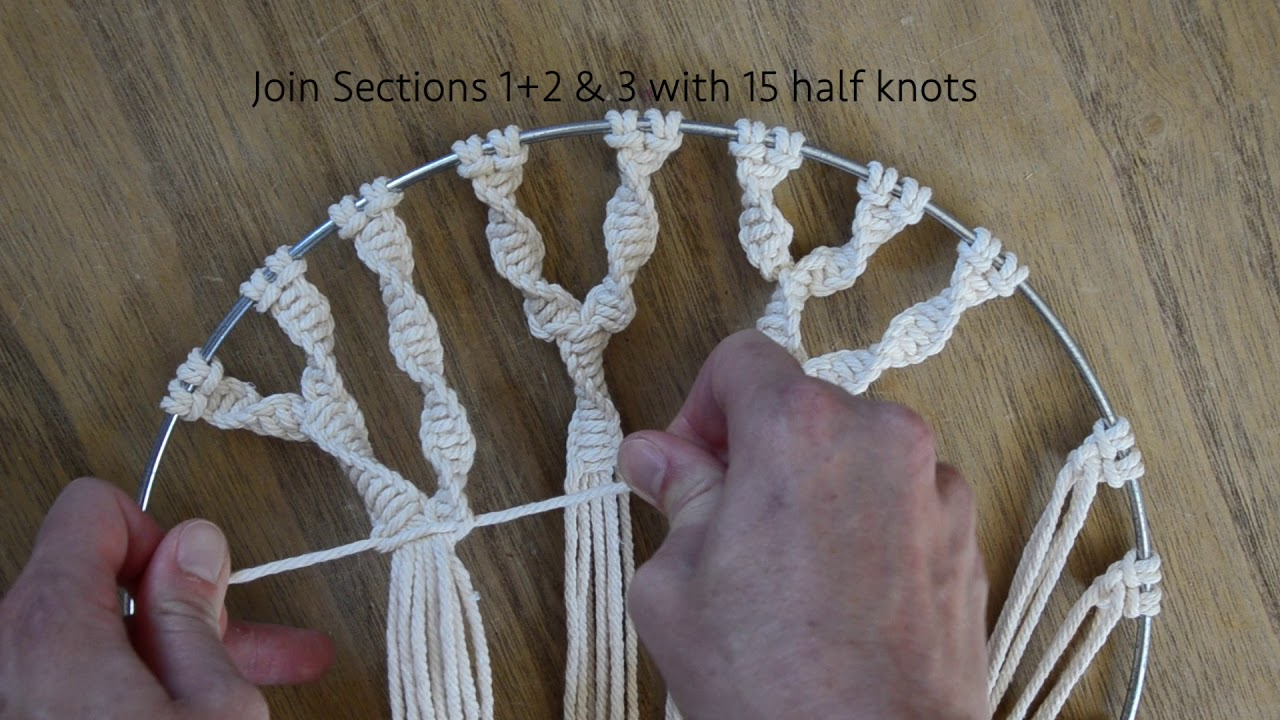 How To Make A Macrame Tree Of Life Youtube