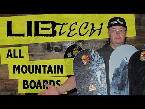 2018 Lib Tech All-Mountain Snowboards - Overview - TheHouse.com