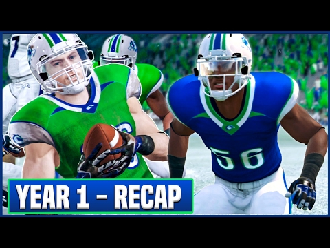 YEAR 1 RECAP (Stats/Awards) & OFFSEASON Preview - NCAA Football 14 Dynasty | Ep.16