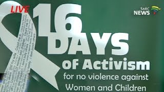 President Jacob Zuma launches 16 Days of Activism campaign