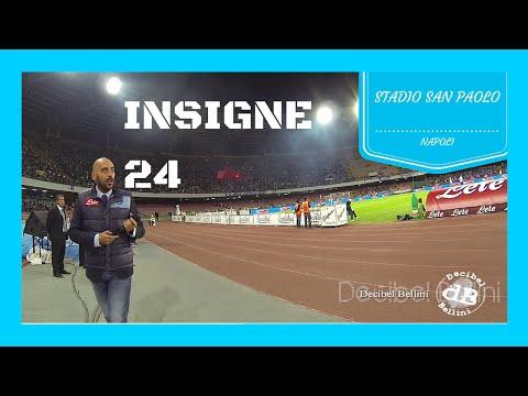 Lorenzo Insigne Napoli Stadio San Paolo annuncio tifosi azzurri